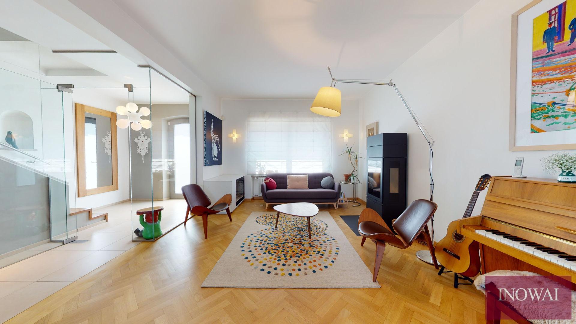 Maison 5 chambres de +/- 220m² avec Jardin